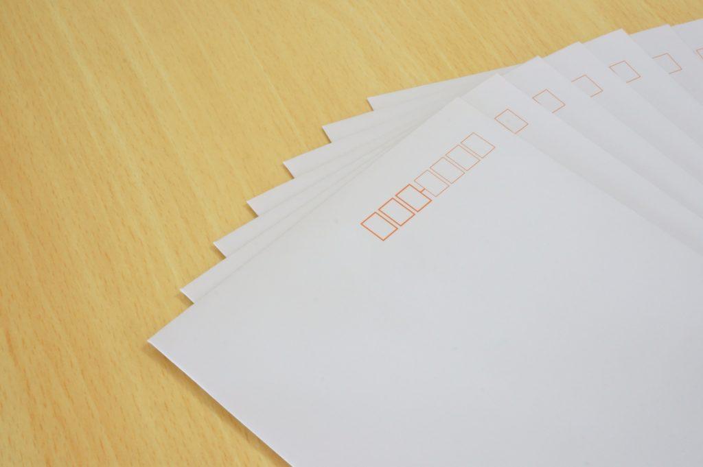 封筒のサイズ