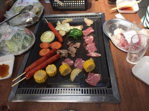 エクシート BBQ 親睦会
